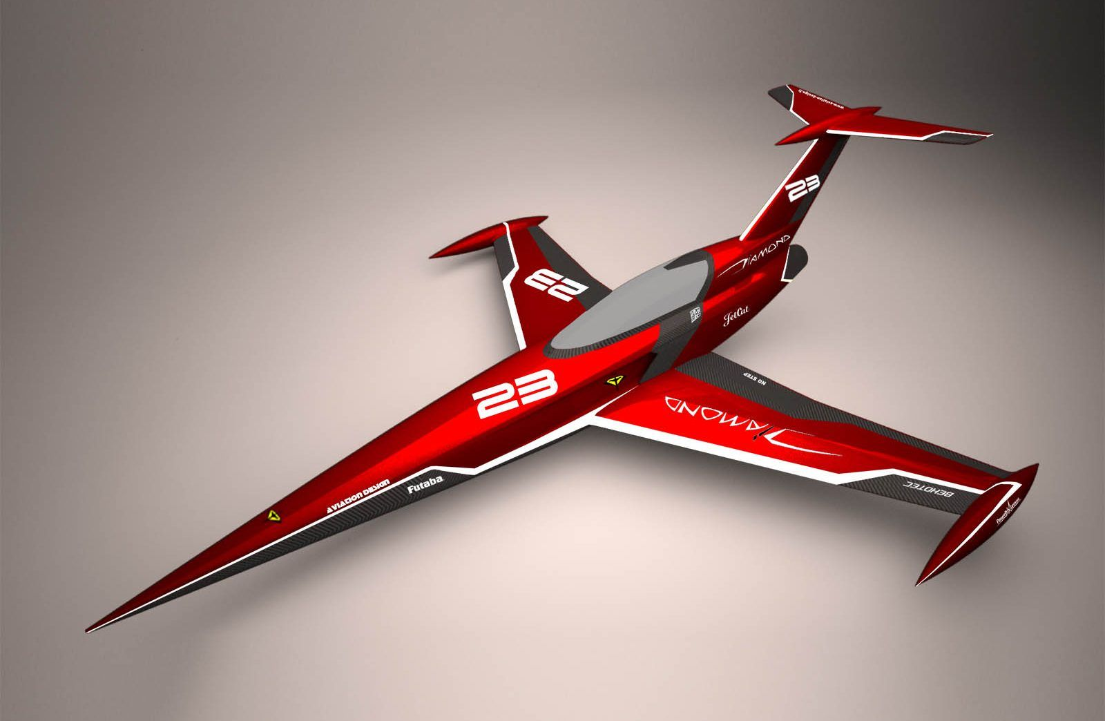 Diamond red racing ARF Aviation Design