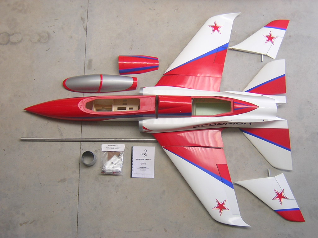 Super Scorpion ARF russian Aviation Design