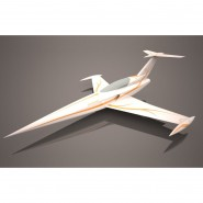 Diamond white/gold ARF Aviation Design