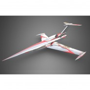 Diamond silver/red ARF Aviation Design