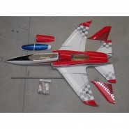 Super Scorpion ARF red/silver Aviation Design